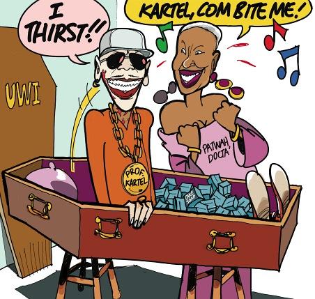 vybz kartel cake soap cartoon. Monday#39;s editorial cartoon