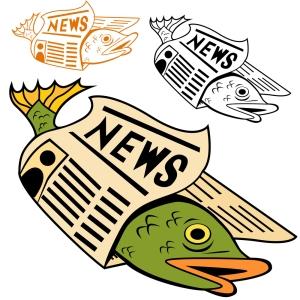 bigstock-cartoon-fish-wrapped-in-newspa-15120257
