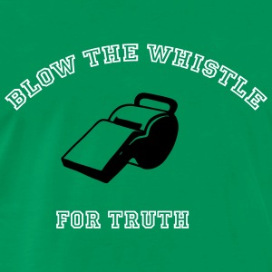 blow-the-whistle-for-truth-t-shirts-mens-premium-t-shirt